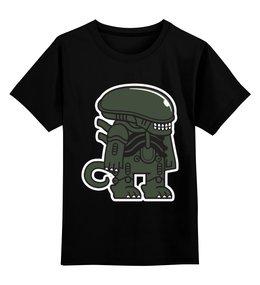 """Детская футболка классическая унисекс """"Чужой"""" - alien, чужой"""