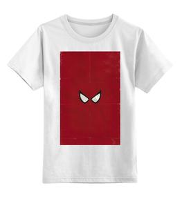 """Детская футболка классическая унисекс """"spider man"""" - комиксы, marvel, spider man, человек паук, марвел"""