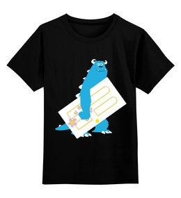 """Детская футболка классическая унисекс """"Корпорация монстров (  Monsters, Inc. )"""" - monsters, корпорация монстров, monsters inc, салливан, inc"""