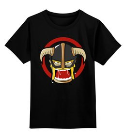"""Детская футболка классическая унисекс """"Варвар(Clash of Clans)"""" - clash of clans, столкновение кланов"""