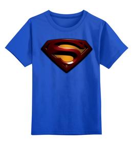 """Детская футболка классическая унисекс """"Superman"""" - популярные"""