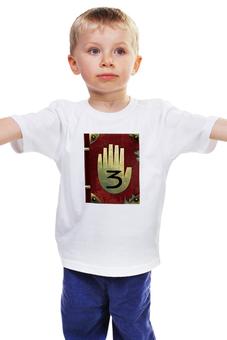 """Детская футболка классическая унисекс """"гравити фолз дневник 3"""" - gravity falls, гравити фолз дневник"""