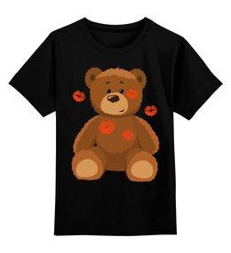 """Детская футболка классическая унисекс """"Мишка"""" - мишка, рисунок, дети, дизайн, мультфильмы"""
