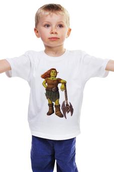 """Детская футболка классическая унисекс """"Принцесса Фиона"""" - фиона, принцесса фиона"""