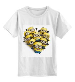 """Детская футболка классическая унисекс """"Миньоны"""" - миноны, гадкий я 2"""