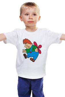 """Детская футболка """"Карлсон"""" - ссср, мультфильмы, малыш и карлсон"""