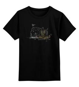 """Детская футболка классическая унисекс """"Эпизод 2 - Голос"""" - сталкер, тёмная душа"""