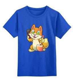 """Детская футболка классическая унисекс """"Котик"""" - юмор, котенок"""