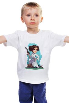 """Детская футболка """"Принцесса Лея"""" - star wars, фильмы, звездные войны, принцесса лея"""
