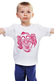 "Детская футболка классическая унисекс ""Клоун"" - арт, стиль, рисунок, клоун, цирк"