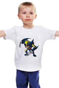 """Детская футболка """"люди-x"""" - комиксы, росомаха, marvel, эксклюзив, для фанатов, x-men, wolverine"""