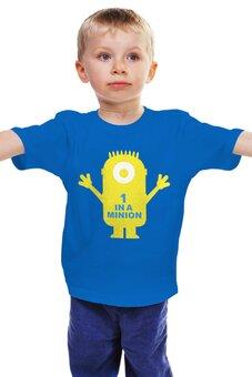 """Детская футболка """"Миньоны Minions"""" - миньоны"""