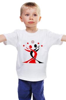 """Детская футболка классическая унисекс """"Color Symbol"""" - lotos, тск лотос"""
