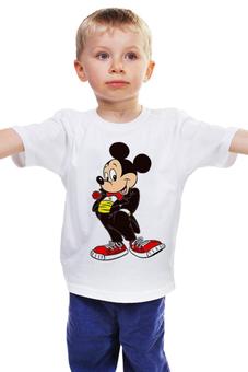 """Детская футболка """"Футболка детская с изображением"""" - авторские майки, футболка, в подарок, оригинально"""