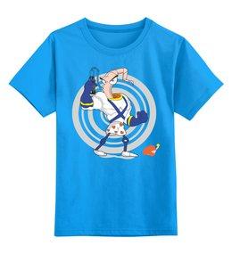 """Детская футболка классическая унисекс """"Червяк Джим"""" - червяк джим"""
