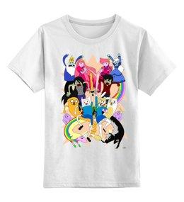 """Детская футболка классическая унисекс """"Время Приключений"""" - мульт, время, приключений, время приключений, adventure time"""