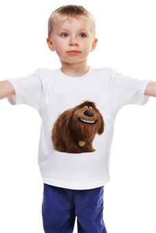 """Детская футболка """"Дюк (Duke)"""" - тайная жизнь домашних животных, the secret life of pets, duke, дюк"""