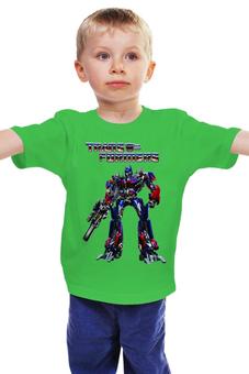 """Детская футболка """"Трансформеры"""" - transformers, трансформеры"""