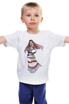 """Детская футболка классическая унисекс """"Лолла"""" - лола, подводная братва, мульт персонаж, lola, shark tale"""
