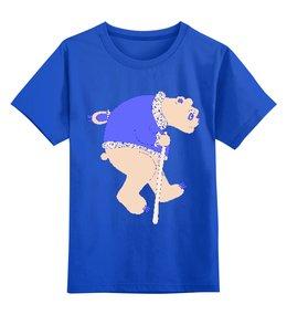 """Детская футболка классическая унисекс """"мишка большой"""" - авторские майки"""