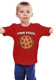 """Детская футболка классическая унисекс """"Gravity Falls"""" - gravity falls, пицца, гравити фолз"""