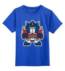 """Детская футболка классическая унисекс """"Трансформеры"""" - трансформеры, трансформер, оптимус прайм"""
