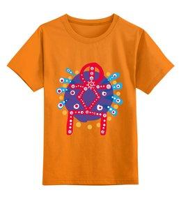 """Детская футболка классическая унисекс """"Руна Духовный рост"""" - настроение, руны, магия, эзотерика, рост"""