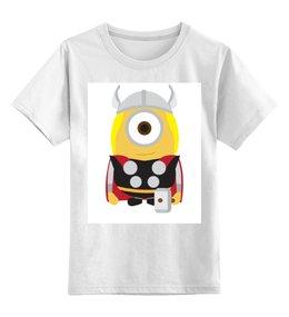 """Детская футболка классическая унисекс """"Миньоны Minions"""" - миньоны, тор, minion, minions"""