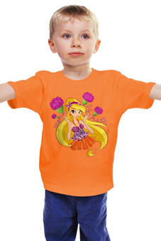 "Детская футболка ""Волшебница"" - winx club, школа волшебниц"