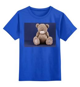 """Детская футболка классическая унисекс """"мишка тэдди"""" - авторские майки, футболка, в подарок"""