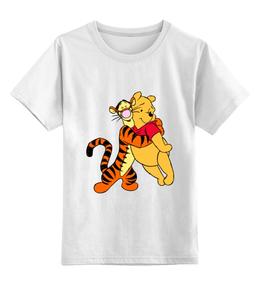 """Детская футболка классическая унисекс """"Винни-пух и Тигруля"""""""