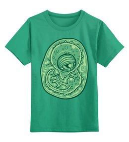 """Детская футболка классическая унисекс """"Динозаврик"""" - динозавры, динозавр"""