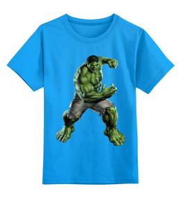"""Детская футболка классическая унисекс """"Без названия"""" - халк, супер герой"""