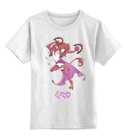 """Детская футболка классическая унисекс """"Знак зодиака Лев"""" - знак зодиака лев, гороскоп лев, подарок льву, малыш лев, ребенок лев"""