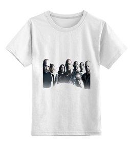 """Детская футболка классическая унисекс """"Форсаж 8"""" - форсаж, фильмы, вин дизель, форсаж8, джейсон стетхем"""