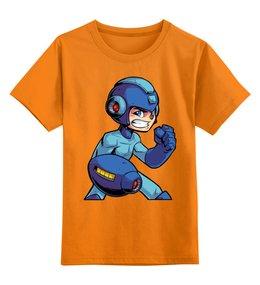 """Детская футболка классическая унисекс """"Mega Man"""" - mega man, мега мэн"""