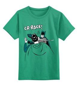 """Детская футболка классическая унисекс """"Бэтмен и Робин"""" - batman, бэтмен, робин, бэтмен и робин"""