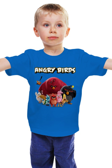 "Детская футболка ""Angry Birds"" - angry birds"