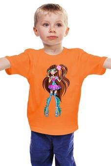 """Детская футболка классическая унисекс """"Монстр хай"""" - фантастика, для девочки, школа монстров"""