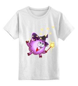 """Детская футболка классическая унисекс """"Футболка из серии """"Смешарики"""""""" - футболка, популярные, в подарок"""