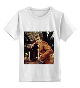 """Детская футболка классическая унисекс """"Джеймс Дин James Dean"""" - стиль, кино, джеймс дин, james dean, бунтарь"""