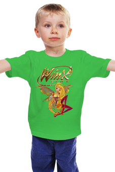 "Детская футболка ""Winx club "" - школа волшебниц, винкс клуб"