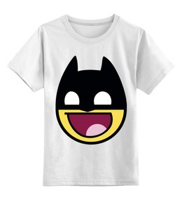"""Детская футболка классическая унисекс """"бетмэн ( batman )"""" - комиксы, batman, dc, бетмэн"""