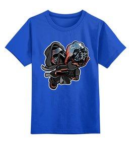 """Детская футболка классическая унисекс """"Кайло Рен и Дарт Вейдер"""" - кайло рен, дарт вейдер, звёздные войны, star wars"""