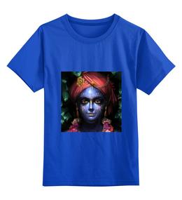"""Детская футболка классическая унисекс """"Харе Кришна!"""" - пословицы, юмор, афоризмы, харе кришна"""