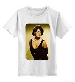 """Детская футболка классическая унисекс """"Моника Беллуччи"""" - знаменитости, поп, фильмы, моника беллуччи, актрисы"""