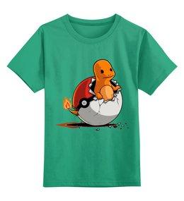 """Детская футболка классическая унисекс """"Покемон(Pokemon)"""" - покемон, покемоны, pokemon"""