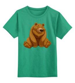 """Детская футболка классическая унисекс """"Медведь"""" - мишка, мишутка"""