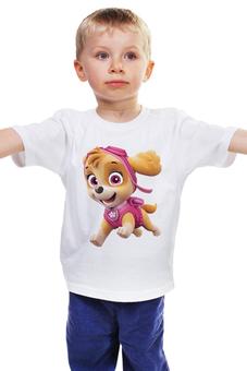 """Детская футболка """"Щенячий патруль Скай """" - щенячий патруль скай"""