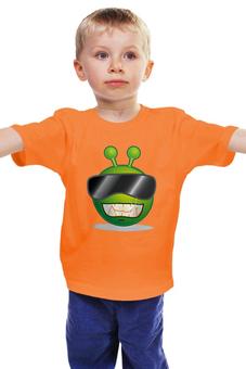 """Детская футболка """"Андроид"""" - нло"""